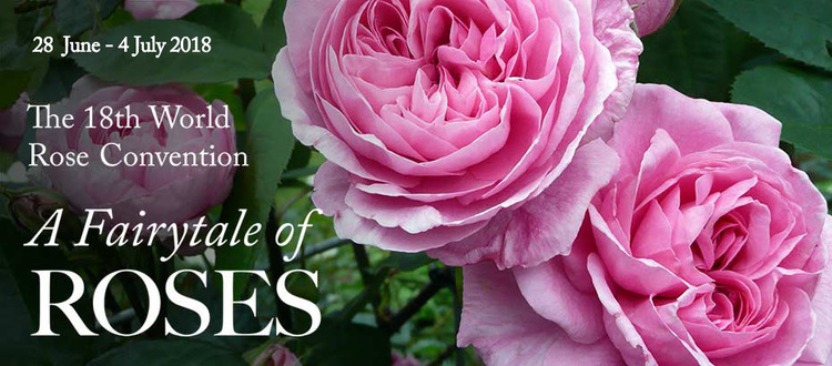 Oppdatert program for «the 18th World Rose Convention»